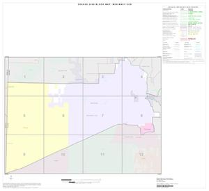 Primary view of object titled '2000 Census County Subdivison Block Map: McKinney CCD, Texas, Index'.