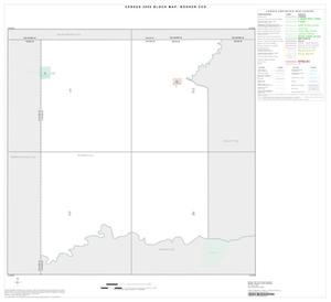 Primary view of object titled '2000 Census County Subdivison Block Map: Booker CCD, Texas, Index'.