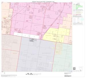 Primary view of object titled '2000 Census County Subdivison Block Map: Edinburg CCD, Texas, Block 14'.
