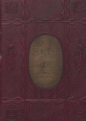 Primary view of object titled 'The Totem, Yearbook of McMurry College, 1929'.