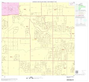 Primary view of object titled '2000 Census County Subdivison Block Map: Southwest CCD, Texas, Block 43'.