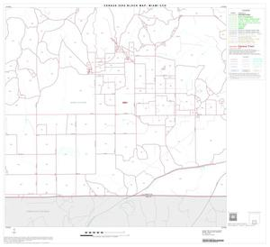 Primary view of object titled '2000 Census County Subdivison Block Map: Miami CCD, Texas, Block 8'.