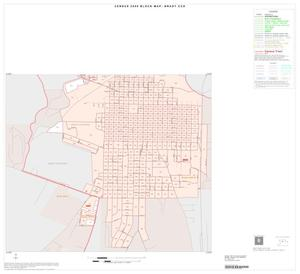 Primary view of object titled '2000 Census County Subdivison Block Map: Brady CCD, Texas, Inset A02'.