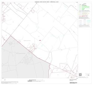 Primary view of object titled '2000 Census County Subdivison Block Map: Imperial CCD, Texas, Block 9'.