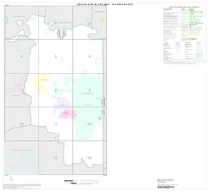 Primary view of object titled '2000 Census County Subdivison Block Map: Texarkana CCD, Texas, Index'.