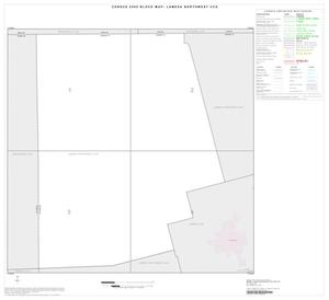 Primary view of object titled '2000 Census County Subdivison Block Map: Lamesa Northwest CCD, Texas, Index'.