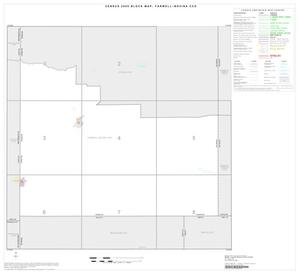 Primary view of object titled '2000 Census County Subdivison Block Map: Farwell-Bovina CCD, Texas, Index'.
