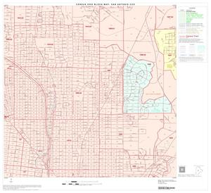 Primary view of object titled '2000 Census County Subdivison Block Map: San Antonio CCD, Texas, Block 53'.