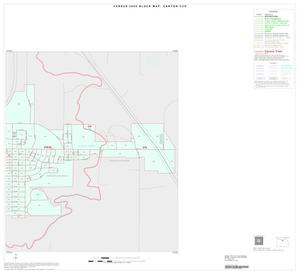 Primary view of object titled '2000 Census County Subdivison Block Map: Canyon CCD, Texas, Inset B02'.