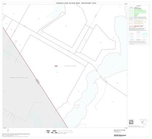Primary view of object titled '2000 Census County Subdivison Block Map: Rockport CCD, Texas, Block 6'.