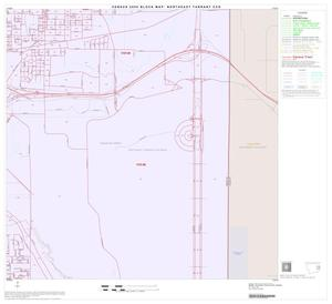Primary view of object titled '2000 Census County Subdivison Block Map: Northeast Tarrant CCD, Texas, Block 10'.