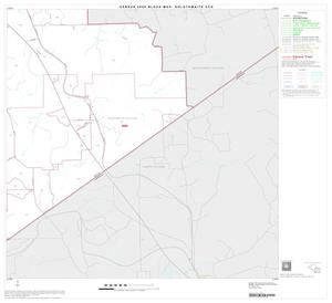 Primary view of object titled '2000 Census County Subdivison Block Map: Goldthwaite CCD, Texas, Block 6'.