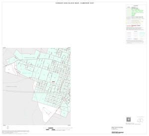 Primary view of object titled '2000 Census County Subdivison Block Map: Cameron CCD, Texas, Inset A03'.