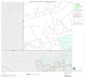 Primary view of object titled '2000 Census County Subdivison Block Map: Tarzan-Lenorah CCD, Texas, Block 7'.