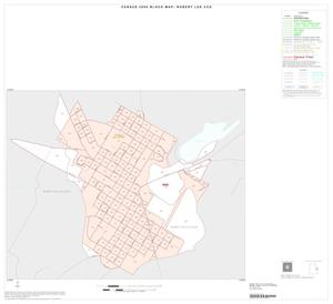 Primary view of object titled '2000 Census County Subdivison Block Map: Robert Lee CCD, Texas, Inset A01'.