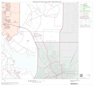 Primary view of object titled '2000 Census County Subdivison Block Map: West Tom Green CCD, Texas, Block 9'.