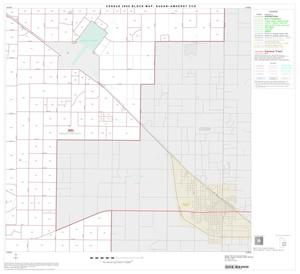 Primary view of object titled '2000 Census County Subdivison Block Map: Sudan-Amherst CCD, Texas, Block 6'.