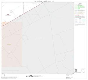 Primary view of object titled '2000 Census County Subdivison Block Map: Waco CCD, Texas, Block 39'.