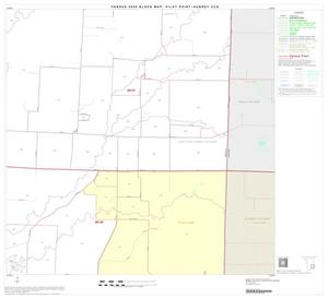 Primary view of object titled '2000 Census County Subdivison Block Map: Pilot Point-Aubrey CCD, Texas, Block 9'.