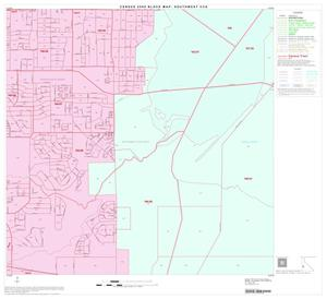 Primary view of object titled '2000 Census County Subdivison Block Map: Southwest CCD, Texas, Block 26'.