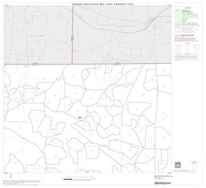 Primary view of object titled '2000 Census County Subdivison Block Map: East Crockett CCD, Texas, Block 2'.