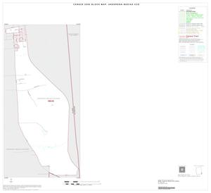 Primary view of object titled '2000 Census County Subdivison Block Map: Anderson-Bedias CCD, Texas, Inset D01'.