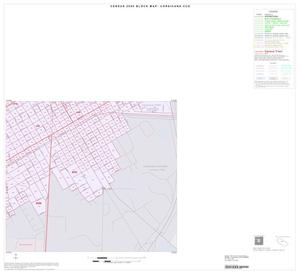 Primary view of object titled '2000 Census County Subdivison Block Map: Corsicana CCD, Texas, Inset C06'.