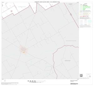 Primary view of object titled '2000 Census County Subdivison Block Map: Hillsboro CCD, Texas, Block 11'.