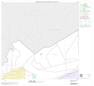 Primary view of object titled '2000 Census County Subdivison Block Map: Del Rio CCD, Texas, Block 8'.