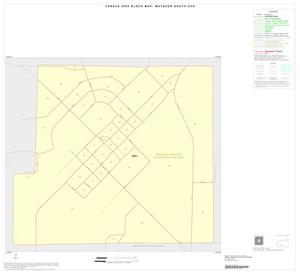 Primary view of object titled '2000 Census County Subdivison Block Map: Matador South CCD, Texas, Inset B01'.