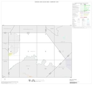 Primary view of object titled '2000 Census County Subdivison Block Map: Comfort CCD, Texas, Index'.