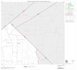 Primary view of object titled '2000 Census County Subdivison Block Map: Edna-Cordele CCD, Texas, Block 2'.