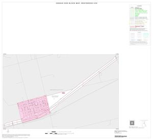 Primary view of object titled '2000 Census County Subdivison Block Map: Westbrook CCD, Texas, Inset A01'.