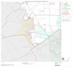 Primary view of object titled '2000 Census County Subdivison Block Map: Guadalupe North CCD, Texas, Block 7'.