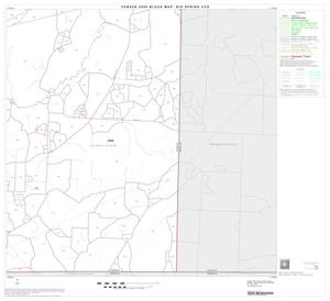 Primary view of object titled '2000 Census County Subdivison Block Map: Big Spring CCD, Texas, Block 10'.