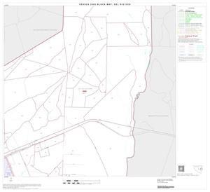 Primary view of object titled '2000 Census County Subdivison Block Map: Del Rio CCD, Texas, Block 9'.