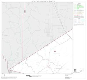 Primary view of object titled '2000 Census County Subdivison Block Map: Valentine CCD, Texas, Block 3'.