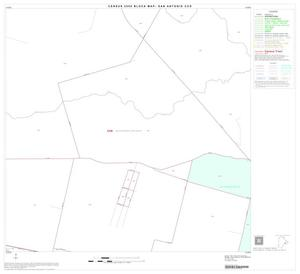 Primary view of object titled '2000 Census County Subdivison Block Map: San Antonio CCD, Texas, Block 69'.