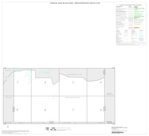 Primary view of object titled '2000 Census County Subdivison Block Map: Breckenridge South CCD, Texas, Index'.