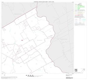 Primary view of object titled '2000 Census County Subdivison Block Map: Poth CCD, Texas, Block 2'.