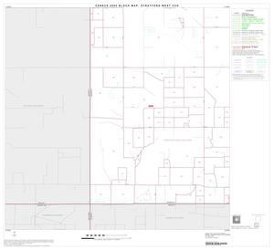 Primary view of object titled '2000 Census County Subdivison Block Map: Stratford West CCD, Texas, Block 5'.