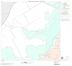 Primary view of object titled '2000 Census County Subdivison Block Map: Waco CCD, Texas, Block 20'.