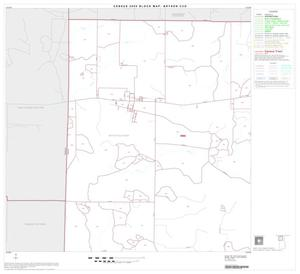 Primary view of object titled '2000 Census County Subdivison Block Map: Bryson CCD, Texas, Block 1'.