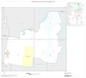 Primary view of object titled '2000 Census County Subdivison Block Map: Rio Hondo CCD, Texas, Index'.