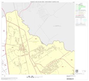 Primary view of object titled '2000 Census County Subdivison Block Map: Northwest Harris CCD, Texas, Block 13'.