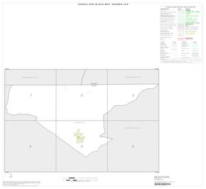 Primary view of object titled '2000 Census County Subdivison Block Map: Sonora CCD, Texas, Index'.
