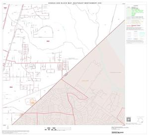 Primary view of object titled '2000 Census County Subdivison Block Map: Southeast Montgomery CCD, Texas, Block 35'.