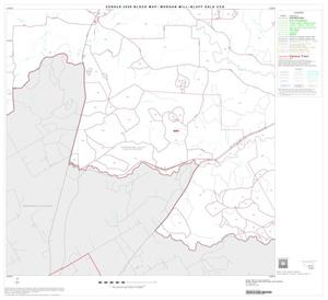Primary view of object titled '2000 Census County Subdivison Block Map: Morgan Mill-Bluff Dale CCD, Texas, Block 7'.