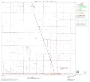 Primary view of object titled '2000 Census County Subdivison Block Map: Canyon CCD, Texas, Block 5'.
