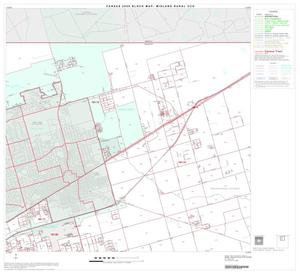 Primary view of object titled '2000 Census County Subdivison Block Map: Midland Rural CCD, Texas, Block 2'.